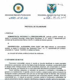 Coperta Protocol UAIC